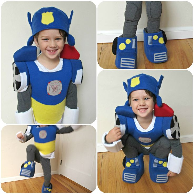 homemade by jill: comfy dress up: Transformers Halloween Costume