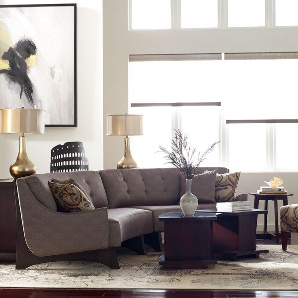 Stickley High Line Sectional Livingroom Greatroom