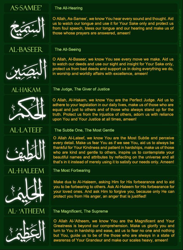 Understand Quran Academy: Names of Allah! Dua's 5