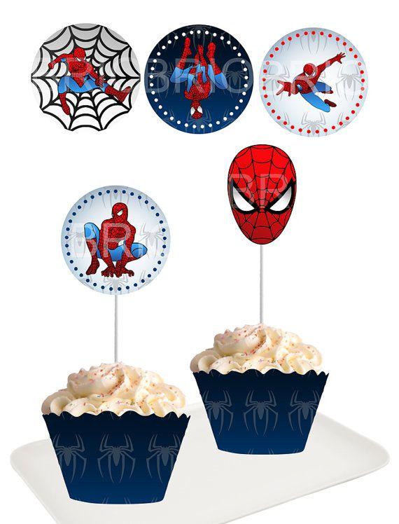 12 best Spiderman Birthday Ideas images on Pinterest | Spiders ...