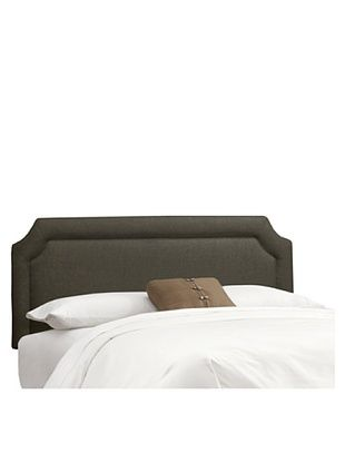 42% OFF Skyline Notched Headboard (Charcoal)