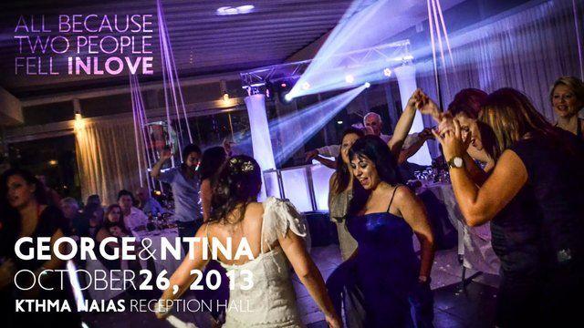 Showtime Greek wedding party