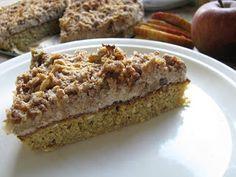 Pořád se něco peče!: Jablečný koláč z vloček
