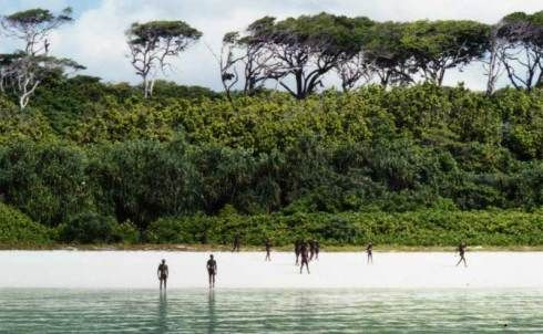 North Sentinel Island - The Forbidden Island. Anthropologists believe the inhabitants are members of a hunter-gatherer tribe that has lived on the island for 65,000 years.