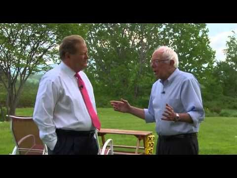 Ed Schultz likes Bernie Sanders because he knows where Bernie stands on issues - YouTube