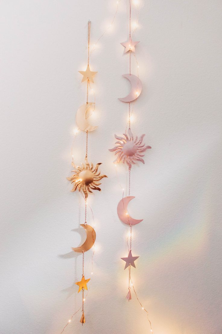 Celestial Wall Hanging Moon Decor Hanging Wall Decor Home Decor Bedroom