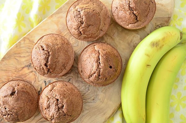 Griekse yoghurt muffins met banaan6