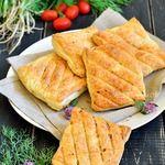 Гриль-закуска из кабачка в тесте