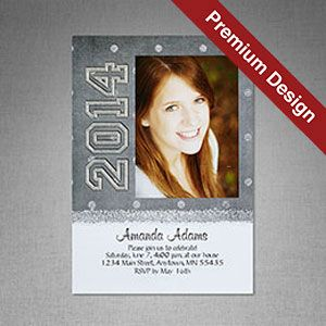 shimmer dots announcements cards products jostens - Jostens Graduation Invitations