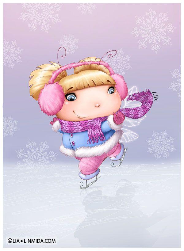 Ice Fairy by LiaSelina on deviantART
