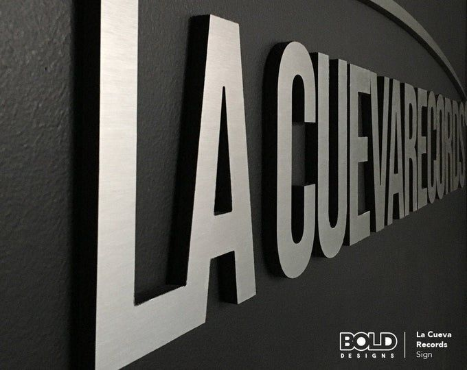 Stainless Steel Laser Cut Signs