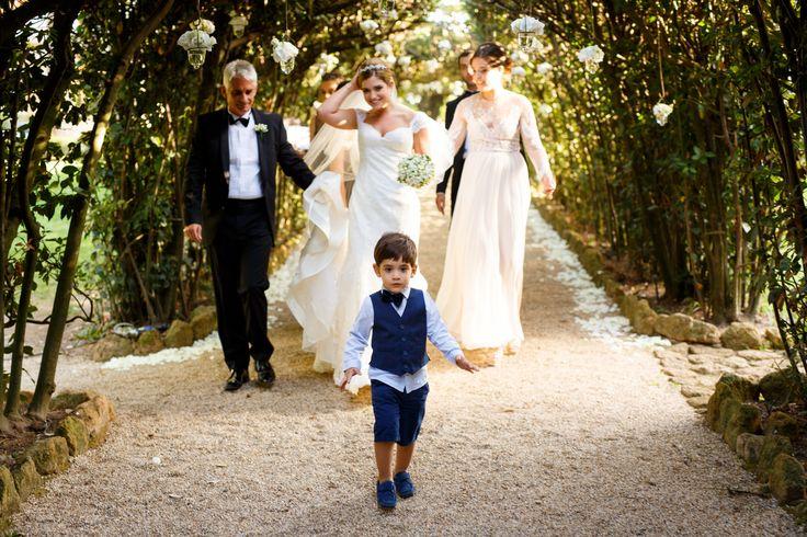 Wedding in Villa Aurelia, Rome, Italy
