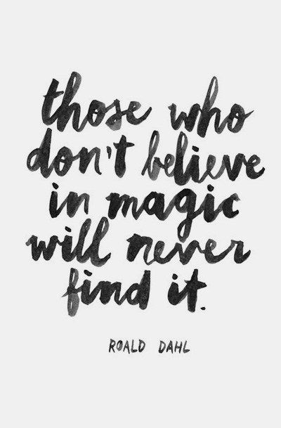 magic - roald dahl