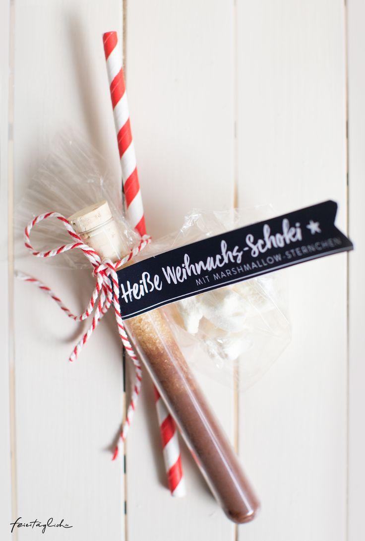 Geschenke aus der Küche: Heiße Weihnachts-Schoko…