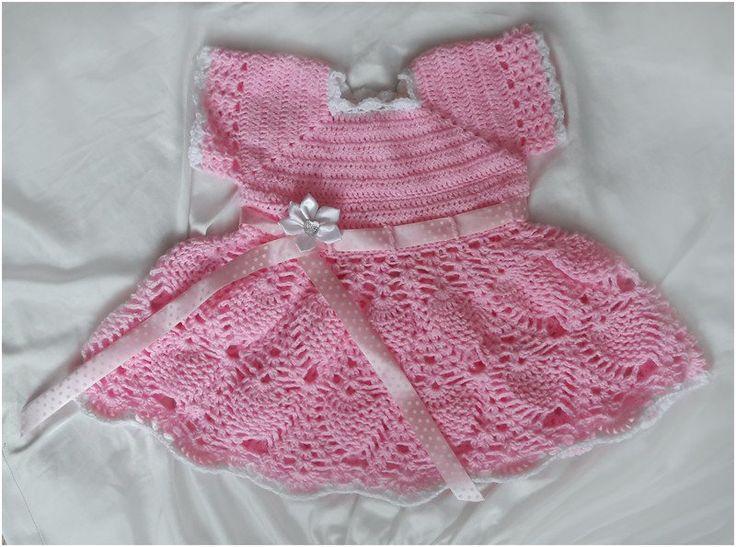 Różowa sukieneczka - Fantazja-handmade - Sukienki dla dziewczynek