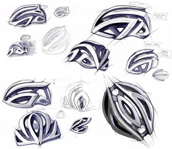 Amazing Helmet Sketches