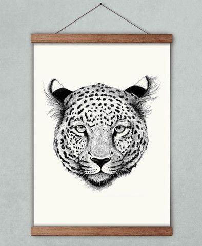 ★ Leoparden Sapphira
