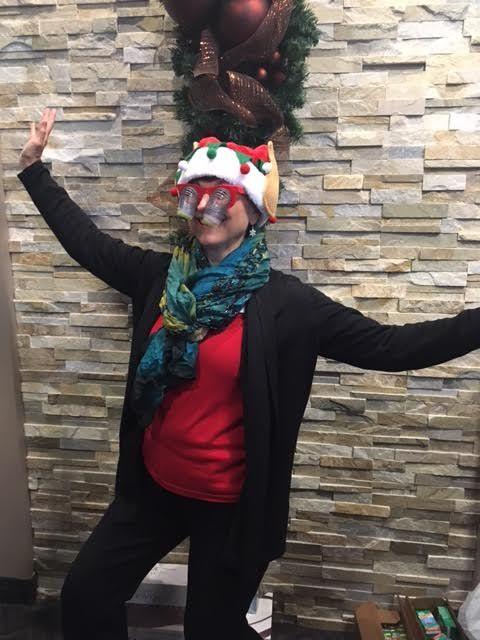 Dolman Eyecare's Holly Jolly Elf!