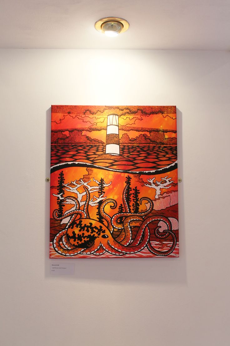 Mererid Hâf - 'Lighthouse and Octopus'