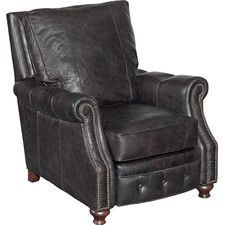 Old Saddle Recliner Chair by Hooker Furniture