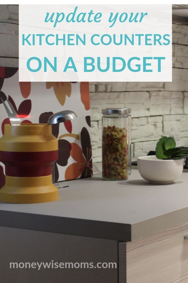 Freshen Up Your Kitchen When You Update Your Countertops On A Budget Learn How To F Replacing Kitchen Countertops Average Kitchen Remodel Cost Kitchen Counter