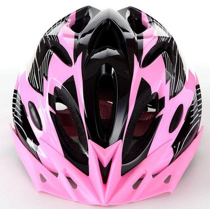 Light Unisex Adult Road MTB Bicycle Cycling Helmet Protective Visor Adjustable #Unbranded