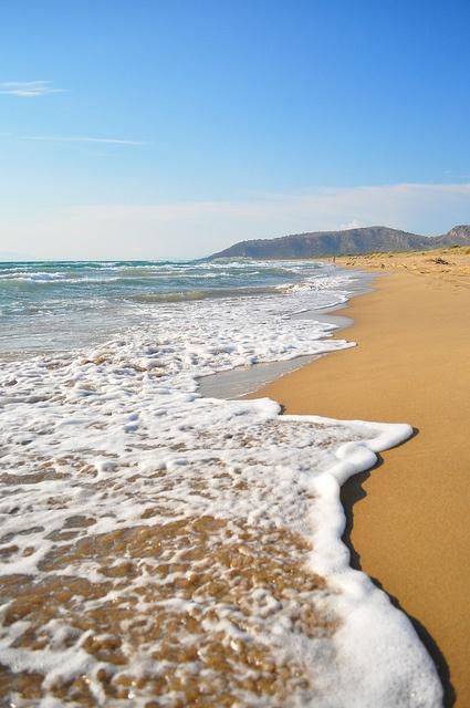 Kalogria beach (Achaia pref.) in Peloponnese | Greece