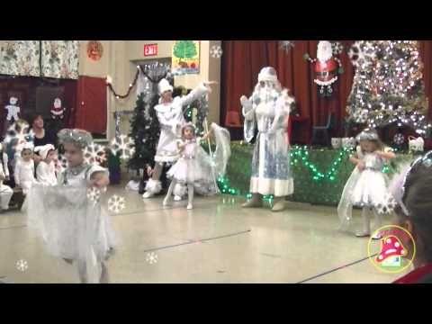 "Танец снежинок. Daycare ""TEREMOK"" 2015"
