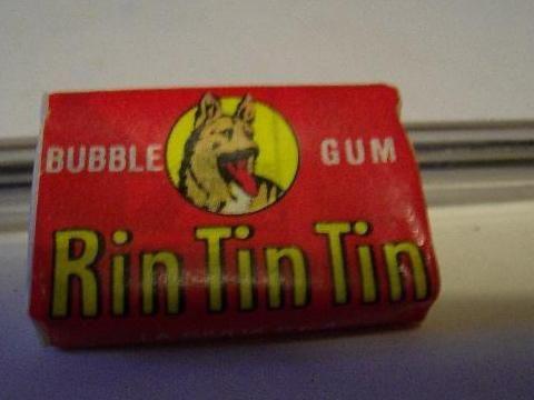 Rin Tin Tin kauwgom (met stripje!)