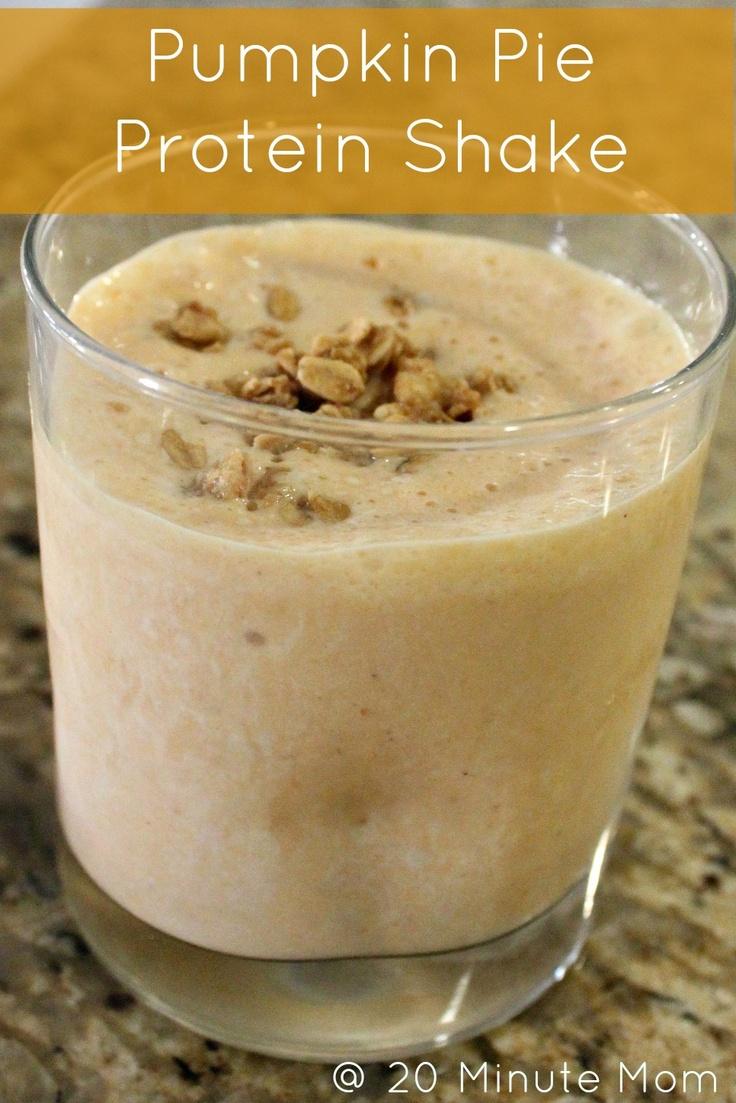 Pumpkin-Coffee Milkshake Recipe — Dishmaps