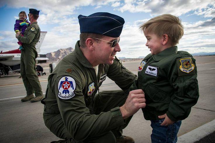 Air Force Maj. Joshua Boudreaux and Maj. Jason Curtis