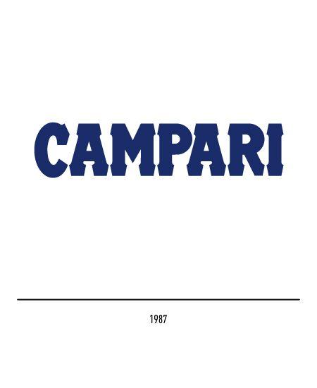 Marchio Campari del 1987