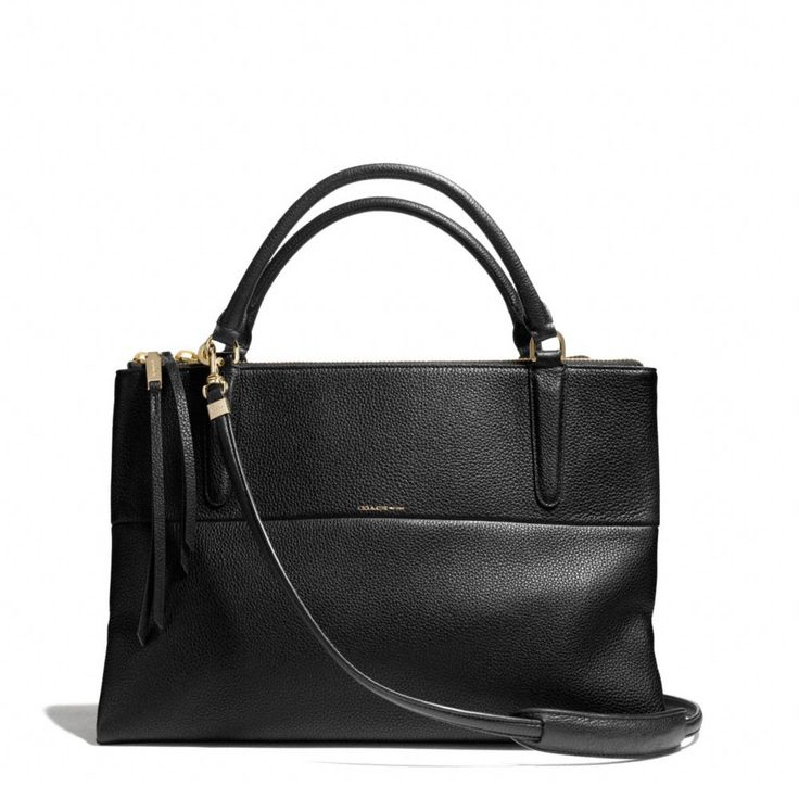 Ugh, why do I always like expensive things? The The Borough Bag In Pebbled Leather from Coach.
