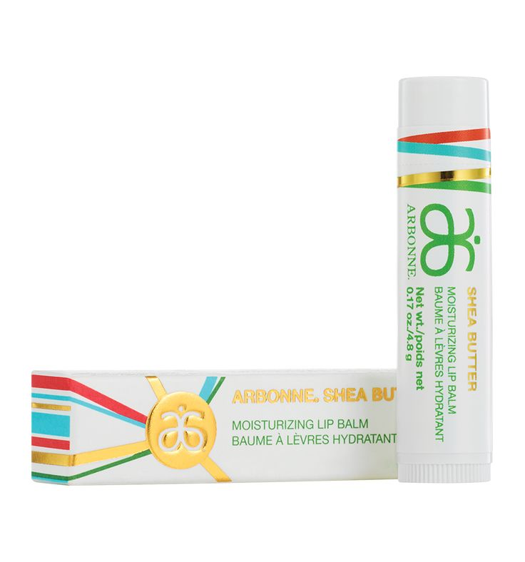 Shea Butter Moisturizing Lip Balm UK #5567 - ArbonneFormulated with sustainable shea butter, this super moisturising SPF free lip balm hydrates so dry lips look rejuvenated. This untinted formula suits everyone, every day, year round. | Key Ingredients: shea butter, chia oil, mango butter, vitamin E | Net wt. 4.8g