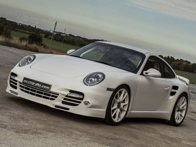 Porsche Turbo S Tuned to 600HP by McChip