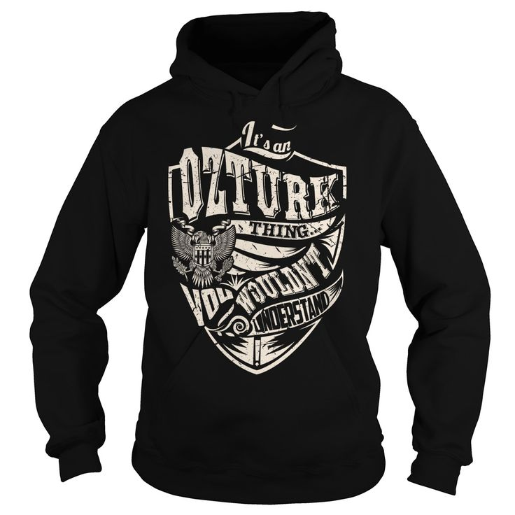 Its an OZTURK Thing (Eagle) - Last Name, Surname T-Shirt