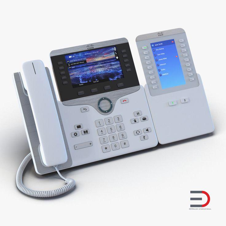 Cisco IP Phone 8861 3d model