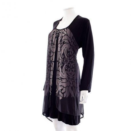 Robe tunique - Yest à 14,99 € : Découvrez notre boutique en ligne : www.entre-copines.be | livraison gratuite dès 45 € d'achats ;)    L'expérience du neuf au prix de l'occassion ! N'hésitez pas à nous suivre. #Grandes Tailles #Yest #fashion #secondhand #clothes #recyclage #greenlifestyle # Bonnes Affaires #grandetaille #bigsize