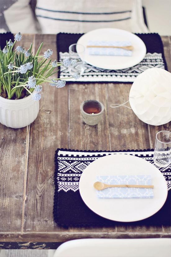 Decoración de Mesa de Manualidades / Handmade Table Setting