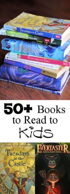 I want to read or reread every book on this list.  Favorite Books to Read Aloud to Your Kids