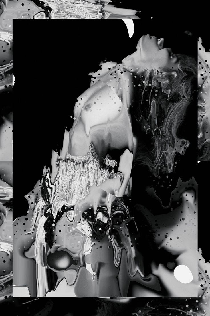 Velvet Pouch (2013) Collage, Mixed Media 'Velvet' Series I   Leif Podhajský is een kunstenaar die vaak met themas werkt als natuur en psychedelische waarnemingen.  Hij werkt vaak met/voor muzikanten of 'hippe' merken.