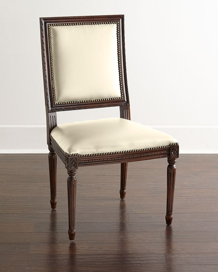 168 Best *chairs  Kitchen & Dining Room Chairs* Images On Simple Ivory Leather Dining Room Chairs Decorating Design