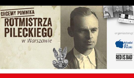 Dziś o godz. 13.00 na warszawskim Żoliborzu przy ul. Wojska Polskiego zostanie odsłonięty pomnik rotmistrza Witolda Pileckiego.