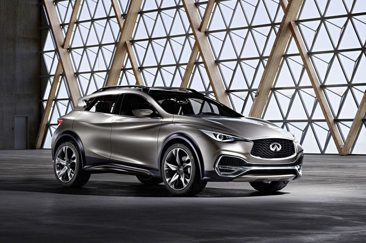 @infinit's QX30 compact SUV concept. As featured in the April 2015 issue of Surface Magazine.