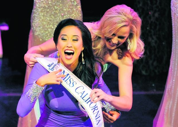 Crystal Lee Crowned Miss California 2013