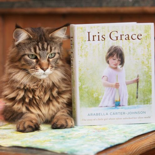 I'm delighted to tell that you that on February 25th 'Iris Grace' will be published by Penguin Books. The book tells our story, and is illustrated in full colour with photographs and of course Iris…