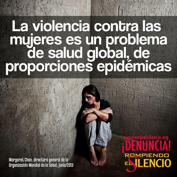 #rompeelsilencio #violencia #mujer