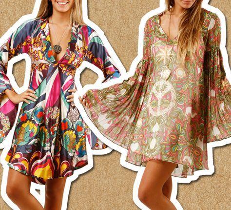 Moda Retro (60´s / 70´s / 80´s): Moda de los años 70