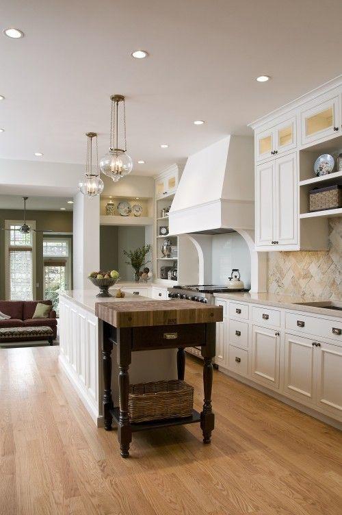 love white kitchens