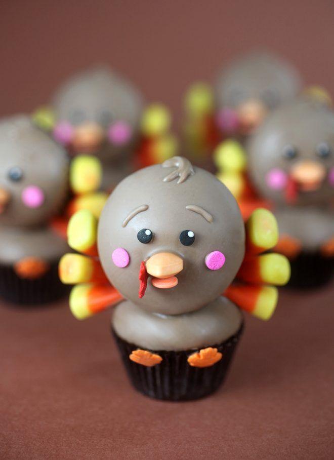 Little Gobblers   Bakerella   Bloglovin'